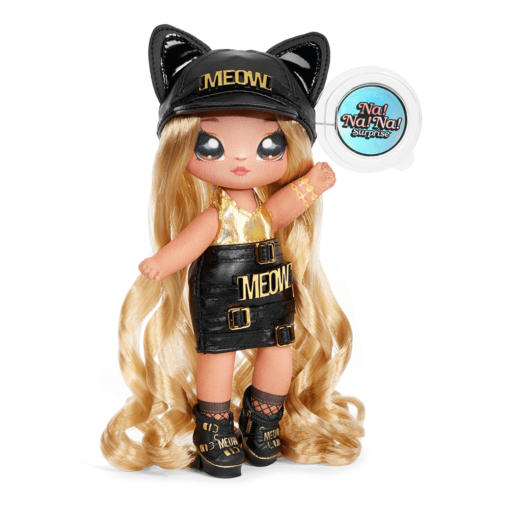 Кукла LOL Surprise Na! Na! Na! 3 серия Sasha Scratch  (девочка кошка)