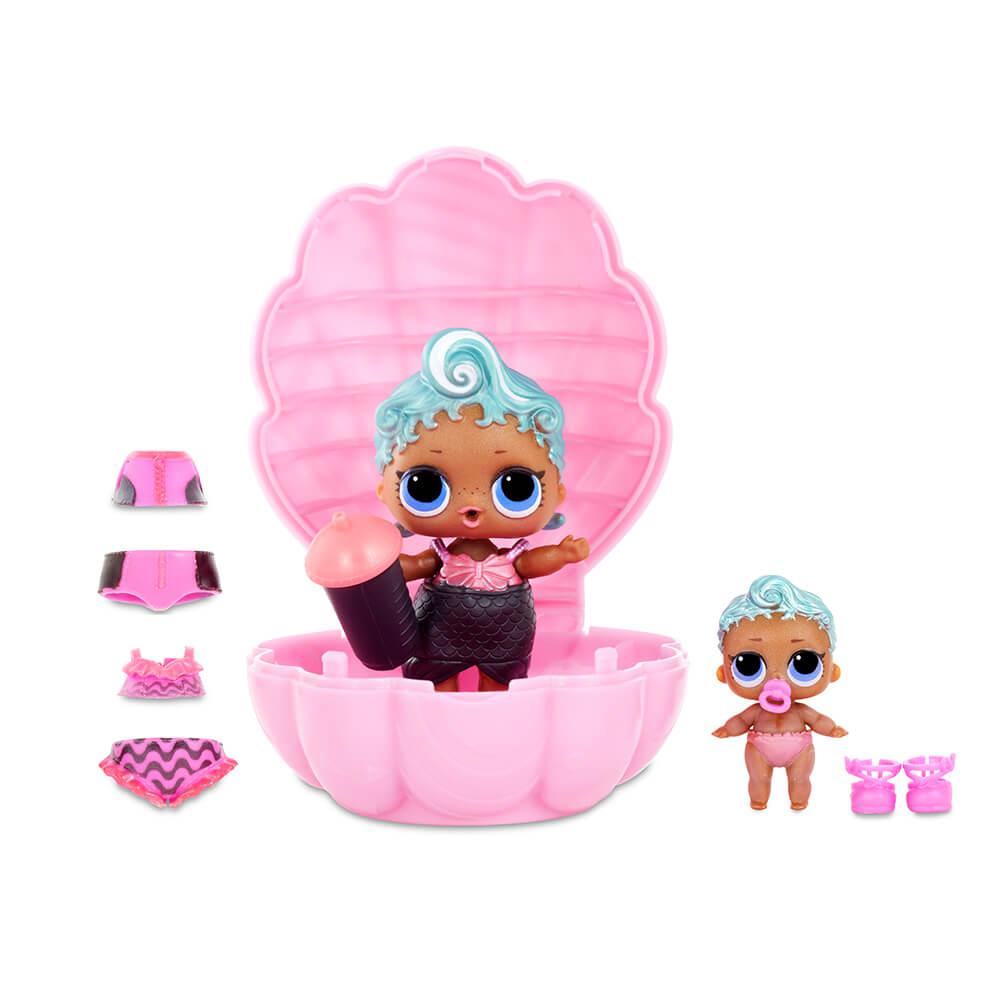 Кукла LOL Surprise Pearl (Лол-сюрприз Жемчужина) (розовый шар) - 4